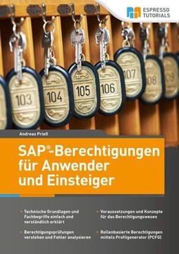 Abbildung von Prieß | SAP-Berechtigungen für Anwender und Einsteiger | 2017