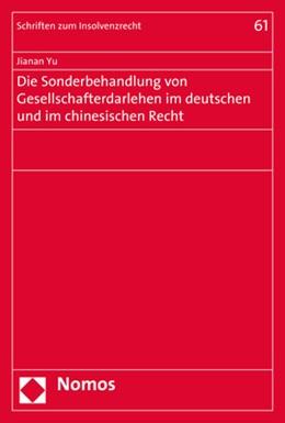 Abbildung von Yu | Die Sonderbehandlung von Gesellschafterdarlehen im deutschen und im chinesischen Recht | 2017 | 61