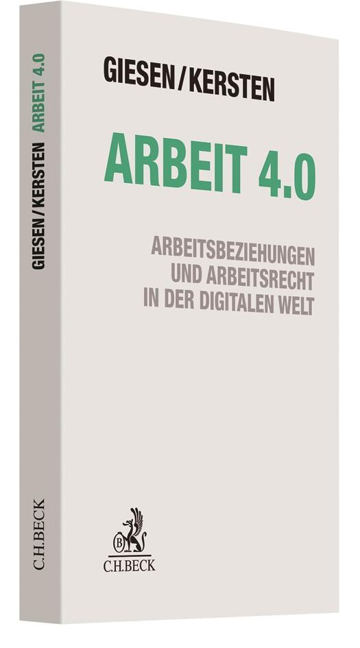 Arbeit 4.0 | Giesen / Kersten, 2017 | Buch (Cover)