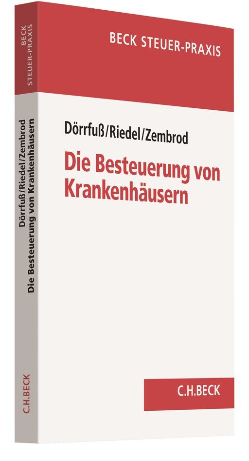Die Besteuerung von Krankenhäusern | Dörrfuß / Riedel / Zembrod, 2018 | Buch (Cover)