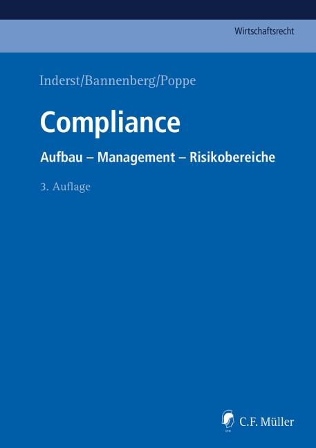 Compliance | Inderst / Bannenberg / Poppe (Hrsg.) | 3., neu bearbeitete Auflage, 2017 | Buch (Cover)