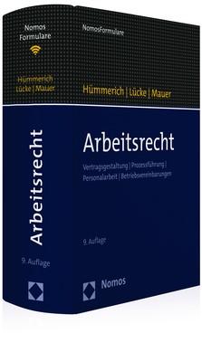 Arbeitsrecht | Hümmerich / Lücke / Mauer (Hrsg.) | 9. Auflage, 2018 (Cover)