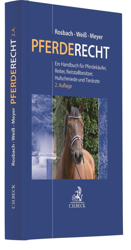 Pferderecht | Rosbach / Weiß / Meyer | 2. Auflage, 2018 | Buch (Cover)