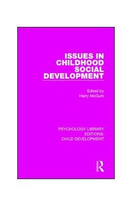 Abbildung von McGurk | Issues in Childhood Social Development | 2017 | 5
