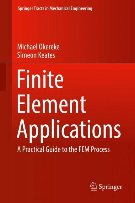 Finite Element Applications | Okereke / Keates, 2017 | Buch (Cover)
