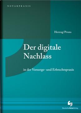 Abbildung von Herzog / Pruns | Digitaler Nachlass | 2018