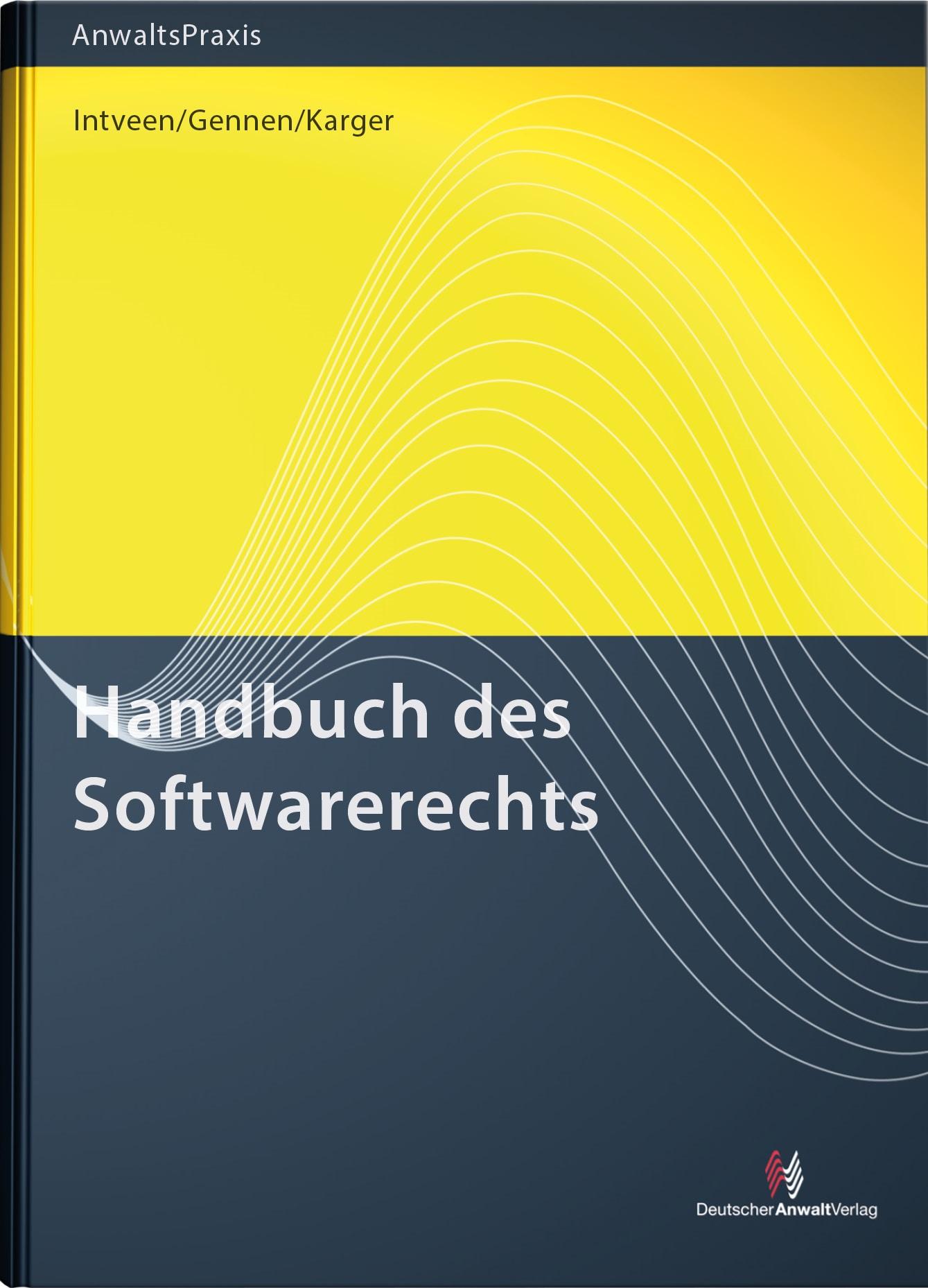 Handbuch des Softwarerechts | Intveen / Gennen / Karger, 2018 | Buch (Cover)