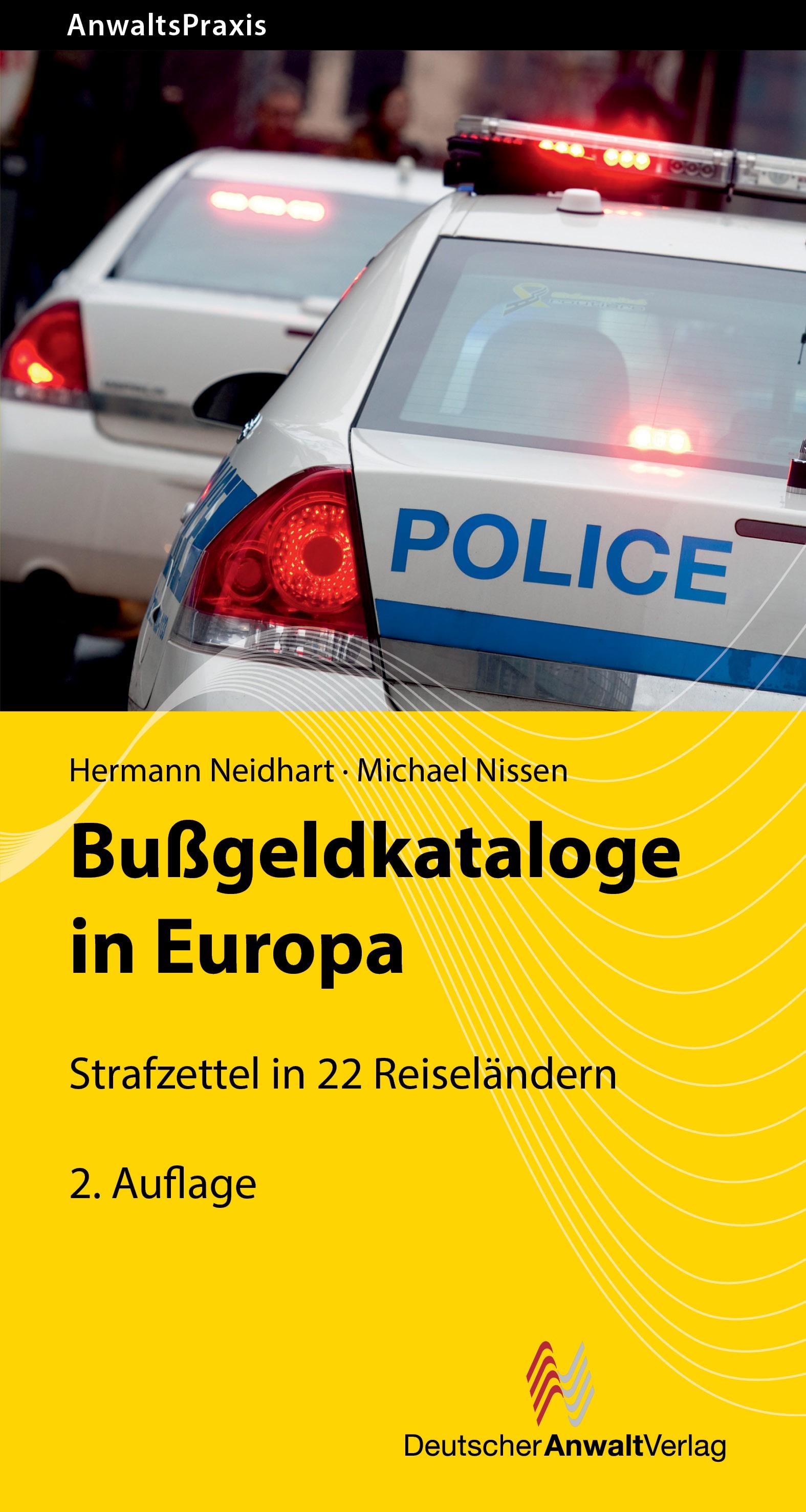 Bußgeldkataloge in Europa | Neidhart / Nissen | 2. Auflage, 2018 | Buch (Cover)