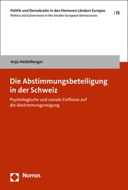 Abbildung von Heidelberger | Die Abstimmungsbeteiligung in der Schweiz | 1. Auflage | 2018 | 15 | beck-shop.de