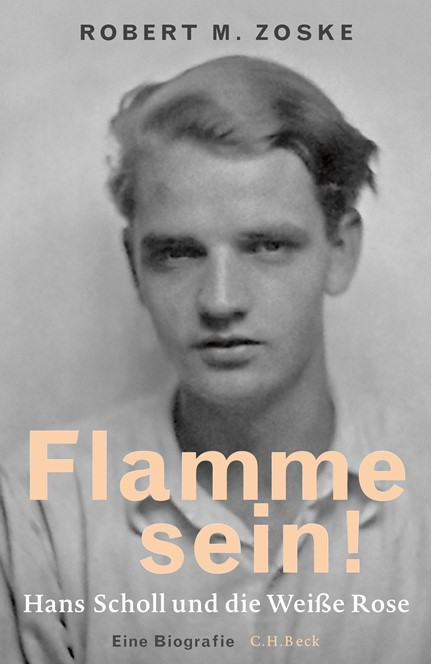 Cover: Robert M. Zoske, Flamme sein!