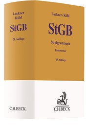 Strafgesetzbuch: StGB   Lackner / Kühl   29., neu bearbeitete Auflage, 2018   Buch (Cover)