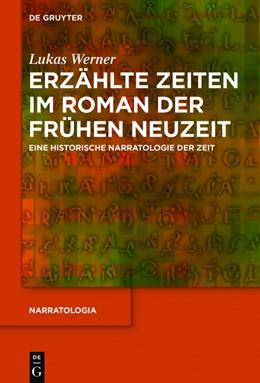 Abbildung von Werner | Erzählte Zeiten im Roman der Frühen Neuzeit | 2018 | Eine historische Narratologie ... | 62