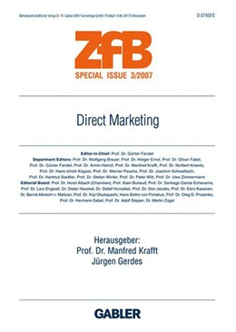 Abbildung von Krafft / Gerdes | Direct Marketing | 2007