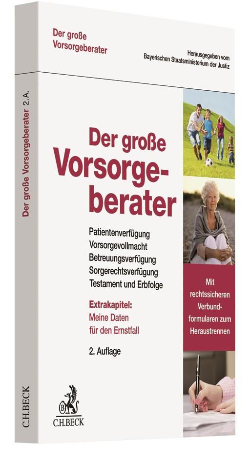 Der große Vorsorgeberater | 2. Auflage, 2017 | Buch (Cover)