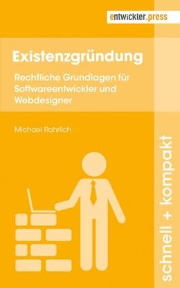 Abbildung von Rohrlich | Existenzgründung | 1. Auflage | 2017 | beck-shop.de