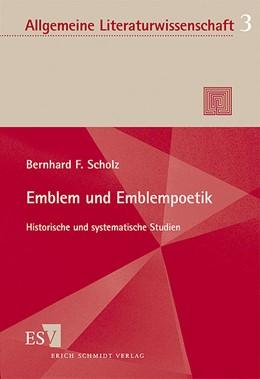 Abbildung von Scholz | Emblem und Emblempoetik | 2002 | Historische und systematische ... | 03