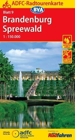 Abbildung von ADFC-Radtourenkarte 09 Brandenburg/Spreewald 1 : 150 000 | 11. Auflage | 2017