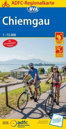 Abbildung von ADFC-Regionalkarte Chiemgau 1:75.000 | 4. Auflage | 2017