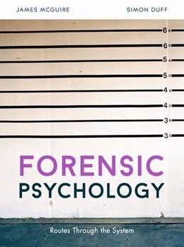 Abbildung von Mcguire / Duff | Forensic Psychology | 2018 | Routes through the system