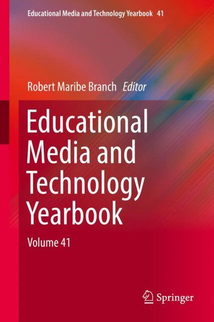 Educational Media and Technology Yearbook | Branch, 2017 | Buch (Cover)
