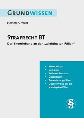 Grundwissen Strafrecht BT | Hemmer / Wüst / Berberich | 6. Auflage, 2017 | Buch (Cover)