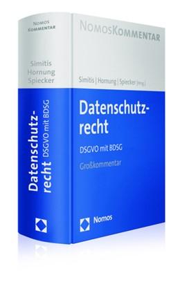 Abbildung von Simitis / Hornung / Spiecker gen. Döhmann (Hrsg.) | Datenschutzrecht | 2019 | DSGVO mit BDSG