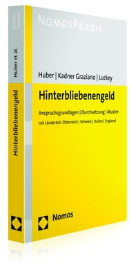 Hinterbliebenengeld | Huber / Kadner Graziano / Luckey, 2018 | Buch (Cover)