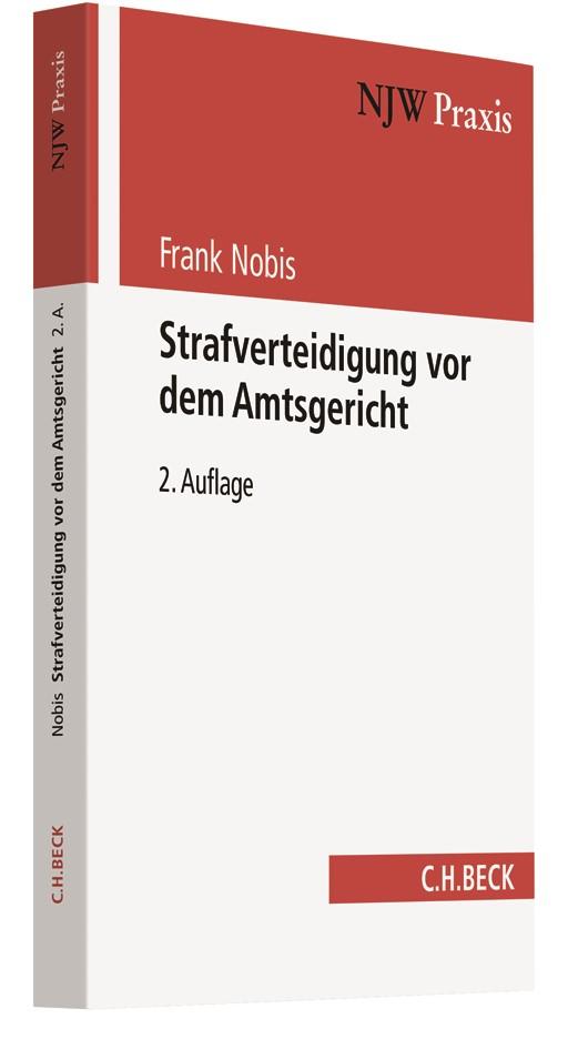 Strafverteidigung vor dem Amtsgericht | Nobis | 2., vollständig überarbeitete Auflage, 2018 | Buch (Cover)