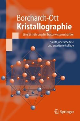 Abbildung von Borchardt-Ott   Kristallographie   2008   Eine Einführung für Naturwisse...