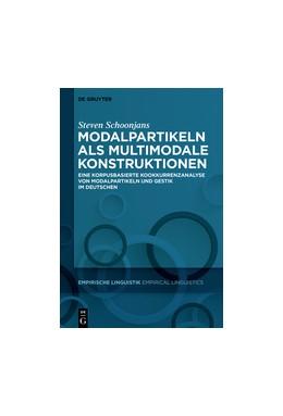 Abbildung von Schoonjans | Modalpartikeln als multimodale Konstruktionen | 2018 | Eine korpusbasierte Kookkurren...