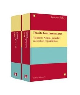 Abbildung von Dubey | Droits fondamentaux | 2018 | Volume I et Volume II
