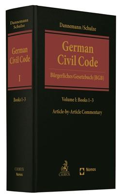 Abbildung von Dannemann / Schulze | German Civil Code Volume I = Bürgerliches Gesetzbuch (BGB) | 1. Auflage | 2020 | beck-shop.de