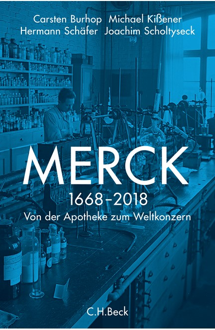 Cover: Carsten Burhop|Hermann Schäfer|Joachim Scholtyseck|Michael Kißener, Merck