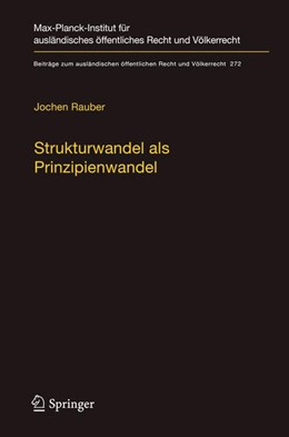 Abbildung von Rauber   Strukturwandel als Prinzipienwandel   1. Auflage   2017   beck-shop.de