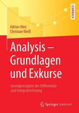 Abbildung von Hirn / Weiß | Analysis - Grundlagen und Exkurse | 2018 | Grundprinzipien der Differenti...