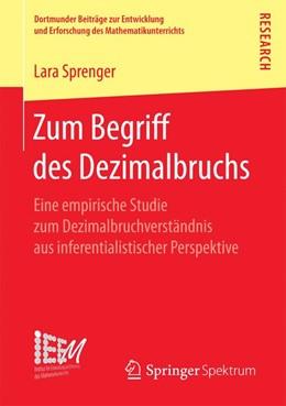 Abbildung von Sprenger | Zum Begriff des Dezimalbruchs | 1. Auflage | 2017 | 32 | beck-shop.de