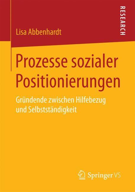 Prozesse sozialer Positionierungen   Abbenhardt, 2017   Buch (Cover)