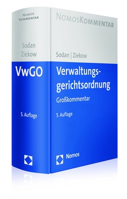 Verwaltungsgerichtsordnung: VwGO | Sodan / Ziekow (Hrsg.) | 5. Auflage, 2018 | Buch (Cover)