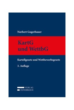 Abbildung von Gugerbauer | KartG und WettbG | 3. Auflage | 2017 | beck-shop.de