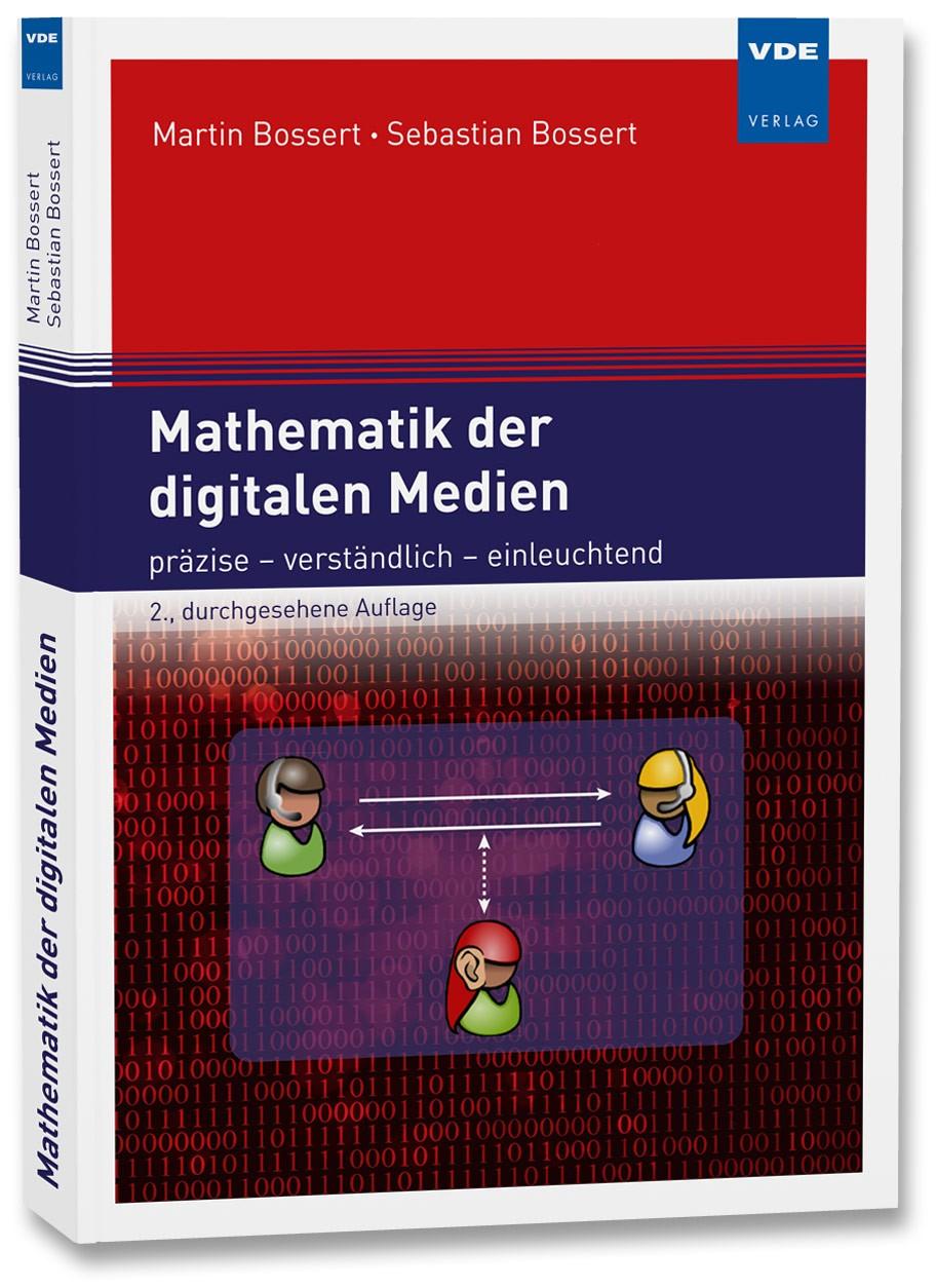 Mathematik der digitalen Medien | Bossert | 2., durchgesehene Auflage, 2017 | Buch (Cover)