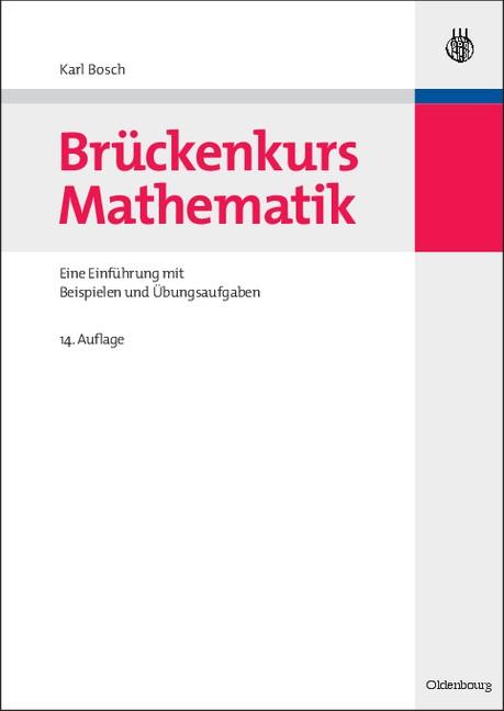 Brückenkurs Mathematik | Bosch | 14., korr. Aufl., 2010 | Buch (Cover)