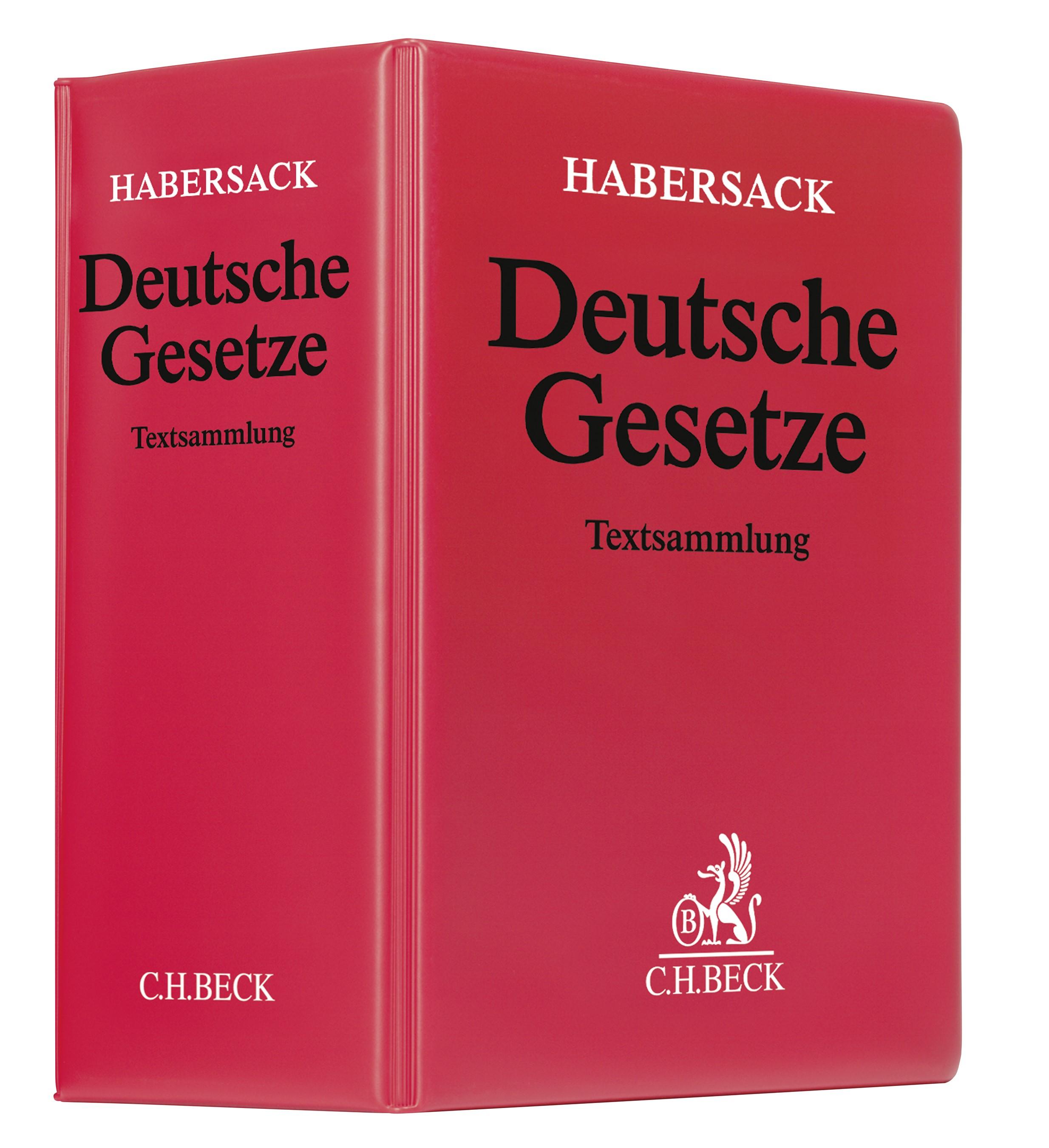 Deutsche Gesetze | Schönfelder | 172. Auflage (Cover)