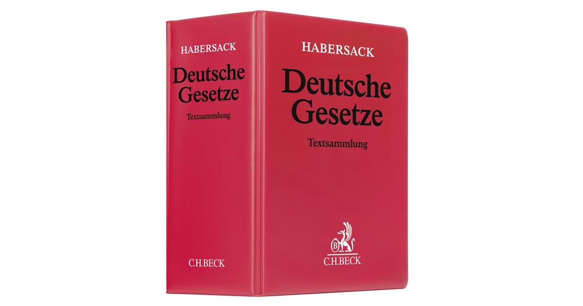 Deutsche Gesetze | Schönfelder | 173. Auflage | beck-shop.de