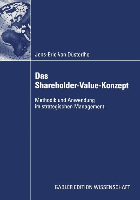 Das Shareholder-Value-Konzept | Düsterlho, 2003 | Buch (Cover)