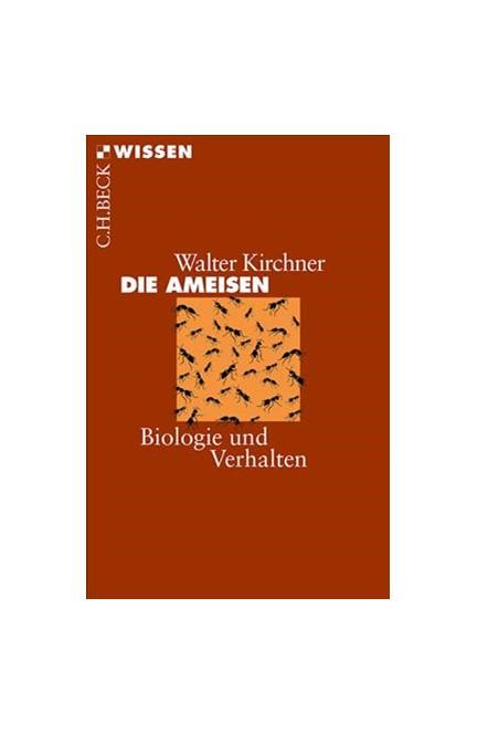 Cover: Walter Kirchner, Die Ameisen