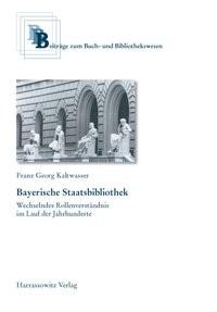 Bayerische Staatsbibliothek | Kaltwasser, 2006 | Buch (Cover)