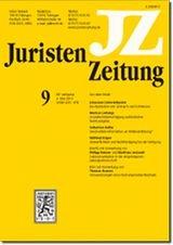 JuristenZeitung - JZ | 74. Jahrgang (Cover)