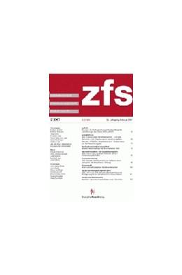 Abbildung von zfs - Zeitschrift für Schadensrecht | 40. Jahrgang | 2019