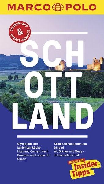 MARCO POLO Reiseführer Schottland   Müller   16. Auflage, 2017   Buch (Cover)