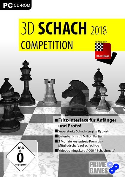 3D Schach 2018 Comeptition, 2017 (Cover)